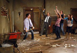Ted Mosby renoviert sein Haus